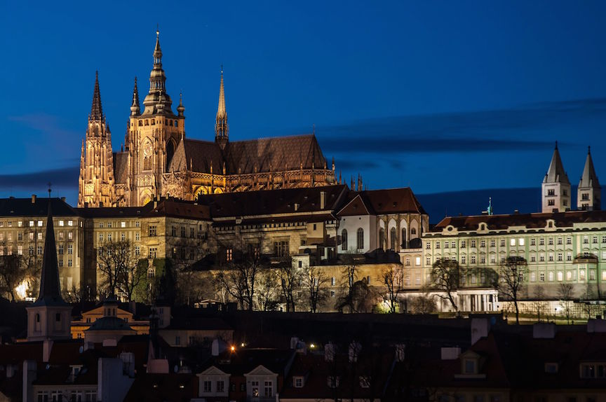 Prague-Castle-over-Vltava-river-Czech-Republic
