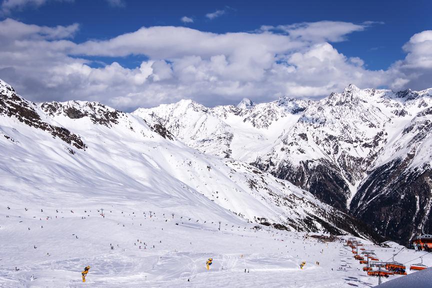 Idėjos snieguotoms atostogoms-Solden-Austrija