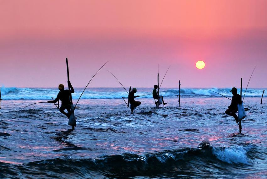 Sri Lanka žvejų miesteliai kelionės atostogos skrydis pigūs