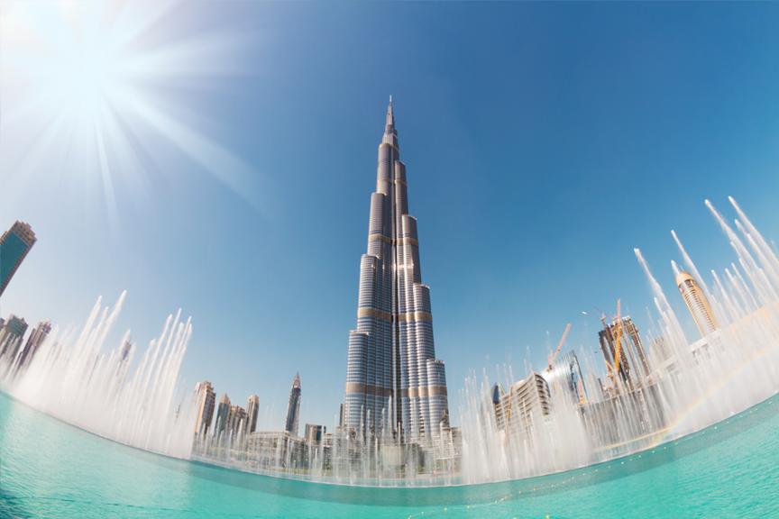 Burj Khalifa pigūs skrydžiai į Dubajų Skrendu.lt