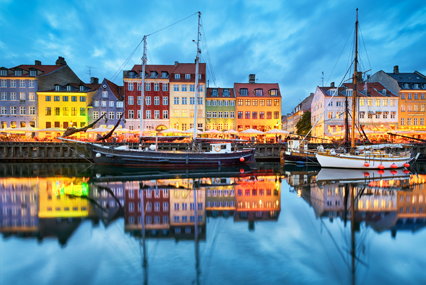 Kopenhaga pigūs skrydžiai Skrendu.lt