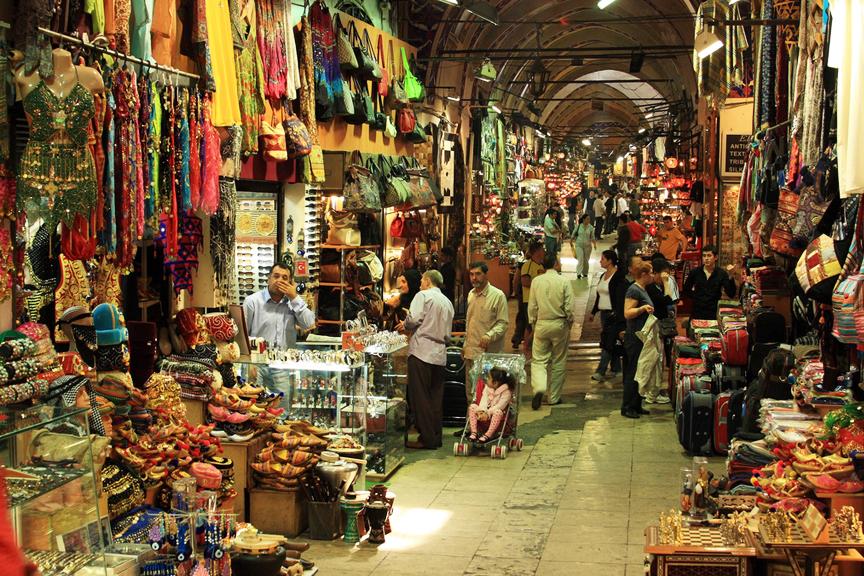 Turgus Grand Bazaar turkija Stambulas skrendu.lt pigu