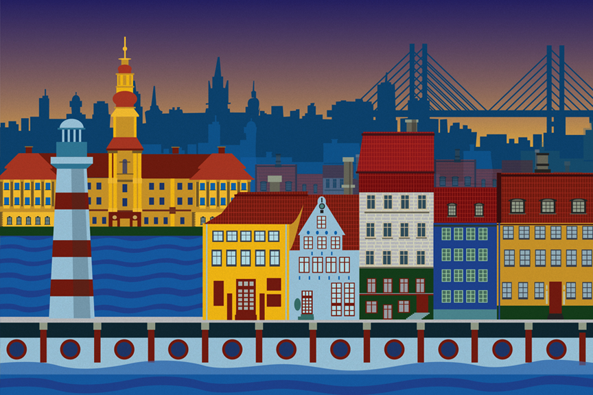 Kopenhaga Skrendu.lt pigiai