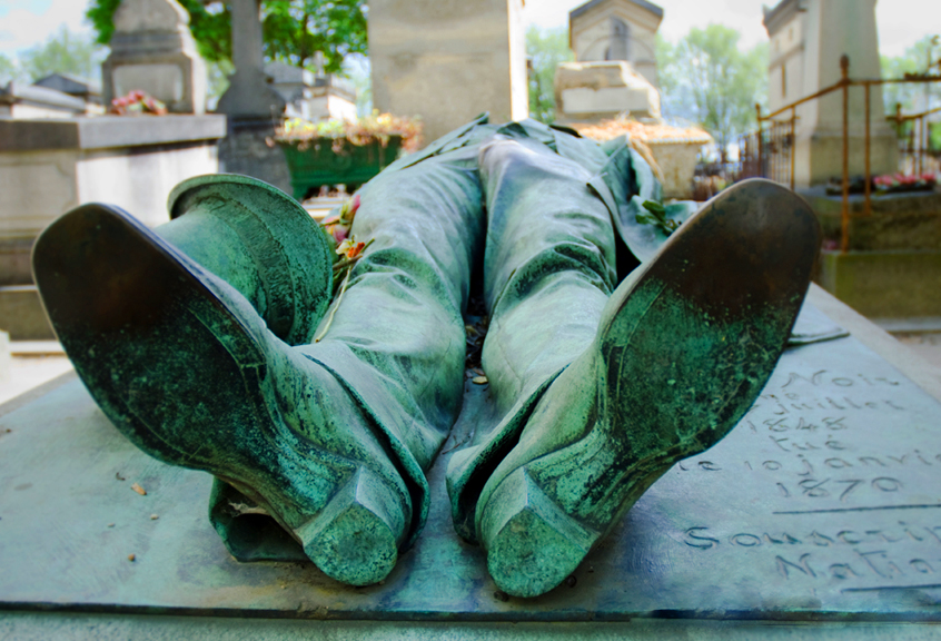 Pere-Lachaise kapinės Paryžiuje