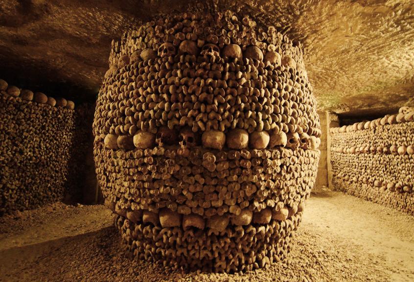 Les Catacombs Paryžiuje