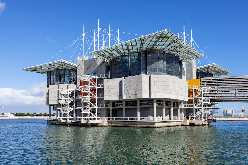 Lisbon, Portugal - February 01, 2015: Lisbon Oceanarium, the second largest oceanarium in the world