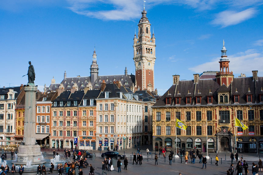 Place General de Gaulle in Lille