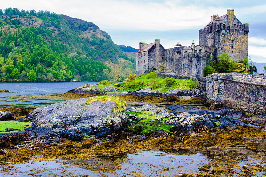 small bigstock-Eilean-Donan-Castle-In-Scotlan-92602793