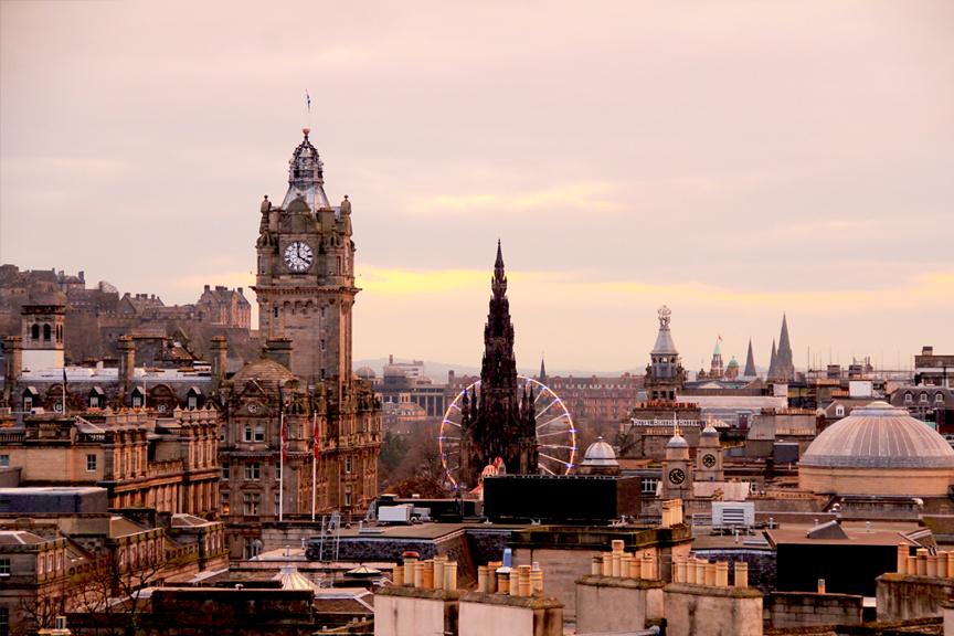 Edinburgas pigūs skrydžiai, kelionė