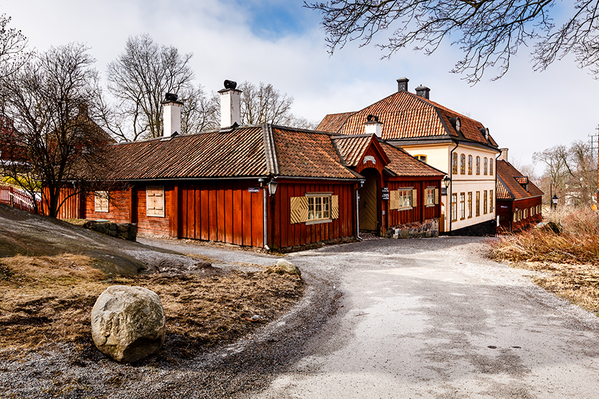 Stokholmas - Skansen muziejus