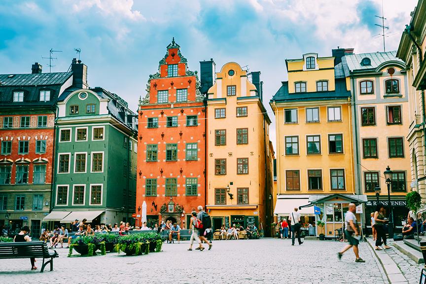 Stokholmas-miesto aikštė