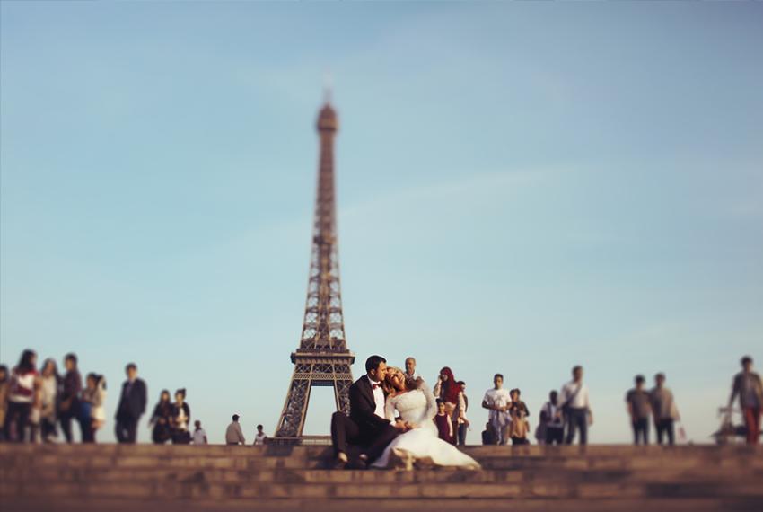 Paryžius Vestuvės 1