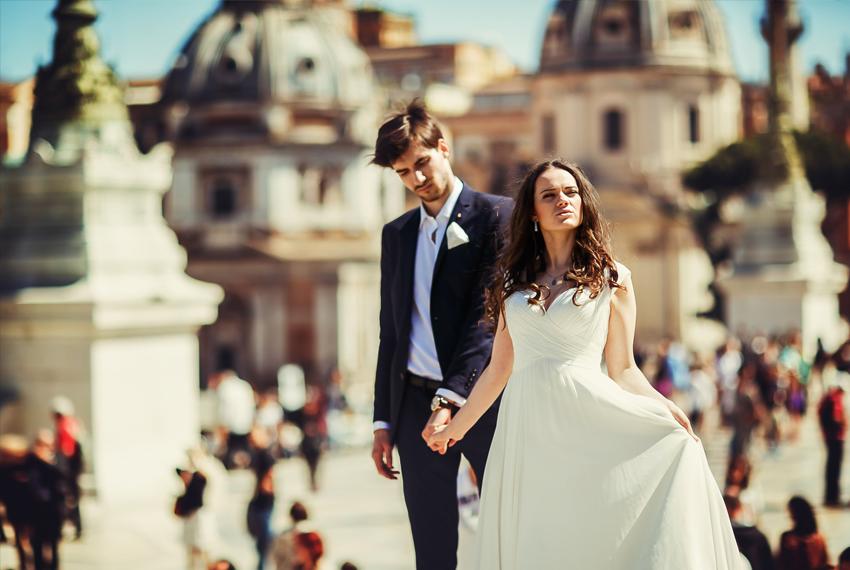 Roma vestuvės