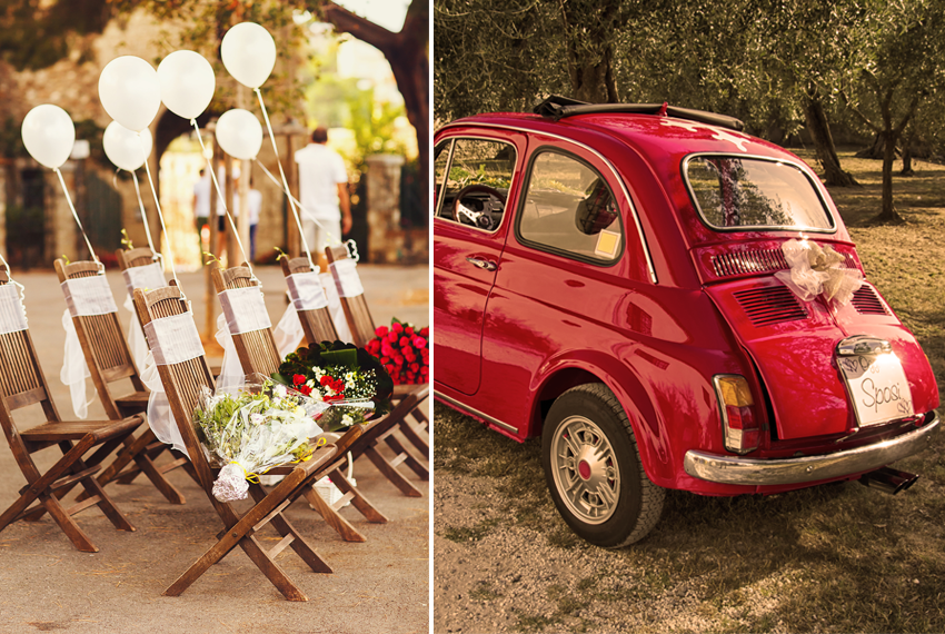 Roma vestuvės Fiat ir balionai pigūs skrydžiai