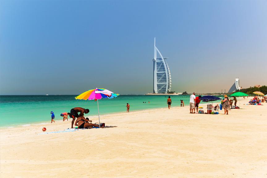 Skrendu.lt Dubajus, paplūdimys