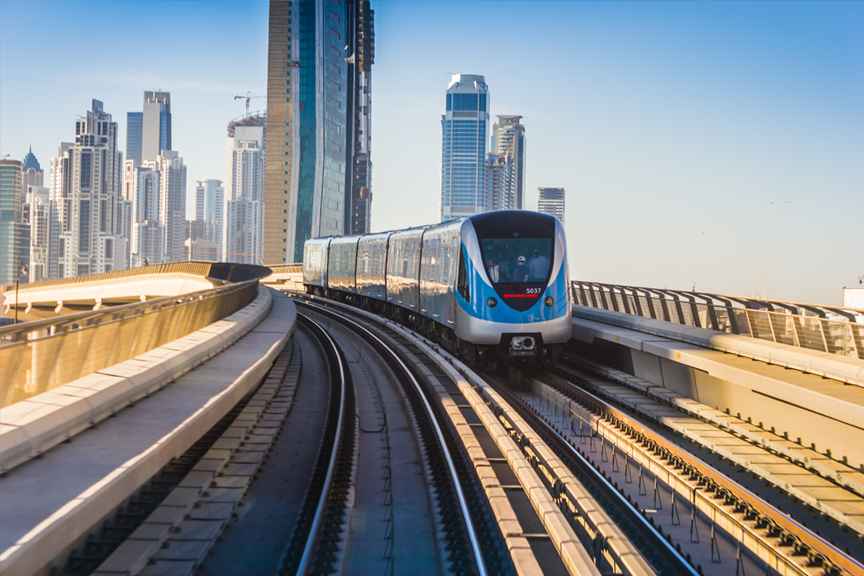 Skrendu.lt traukiniai Dubajuje