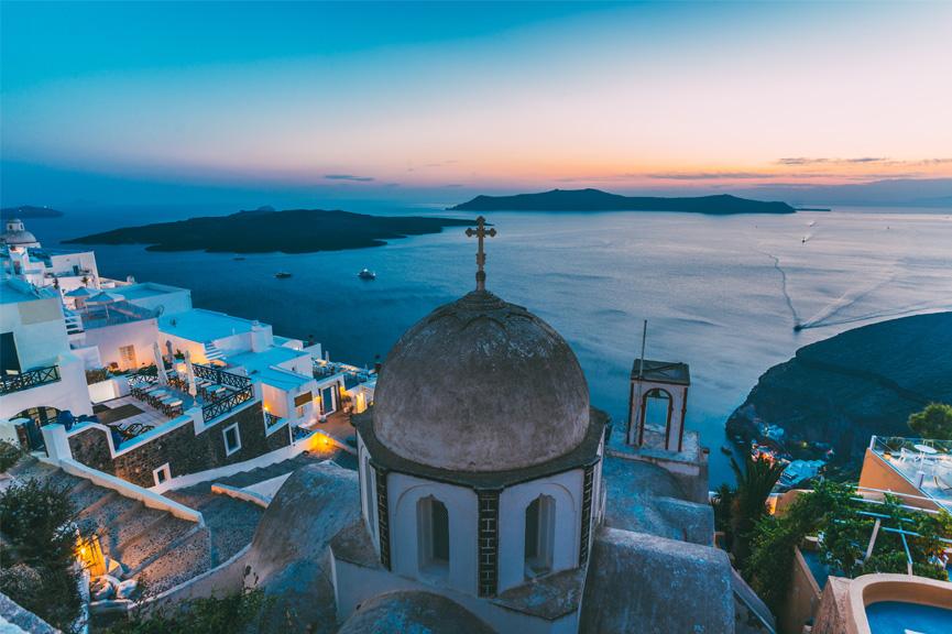 Fira-Santorini-Graikija