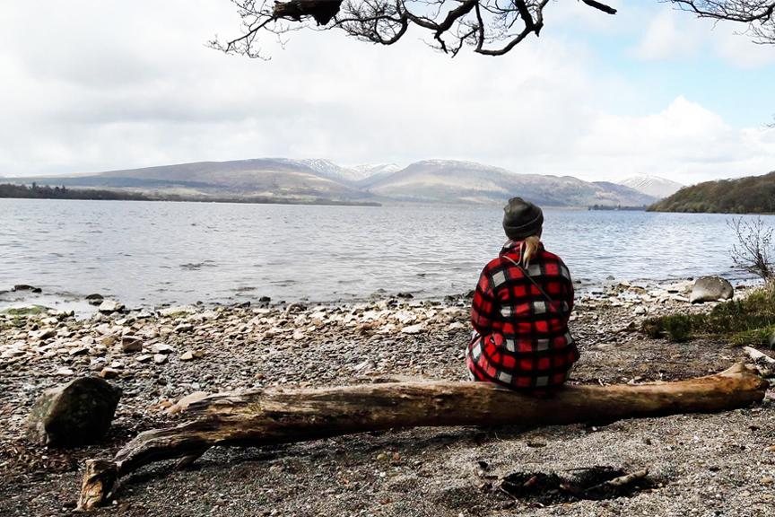 Škotija, gimtadienis. Prie ežero. Pigūs skrydžiai į Glazgą