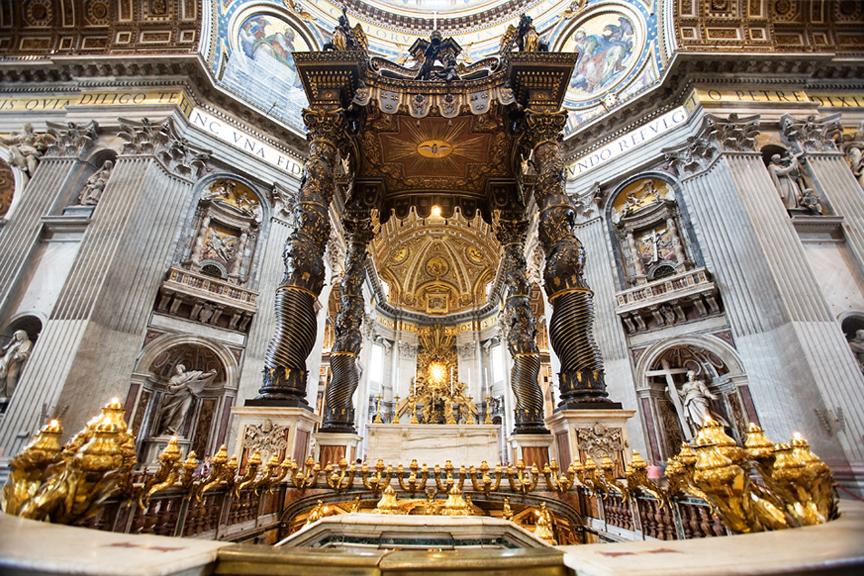 šv. Petro bazilija Vatikanas. Pigūs skrydžiai į Romą