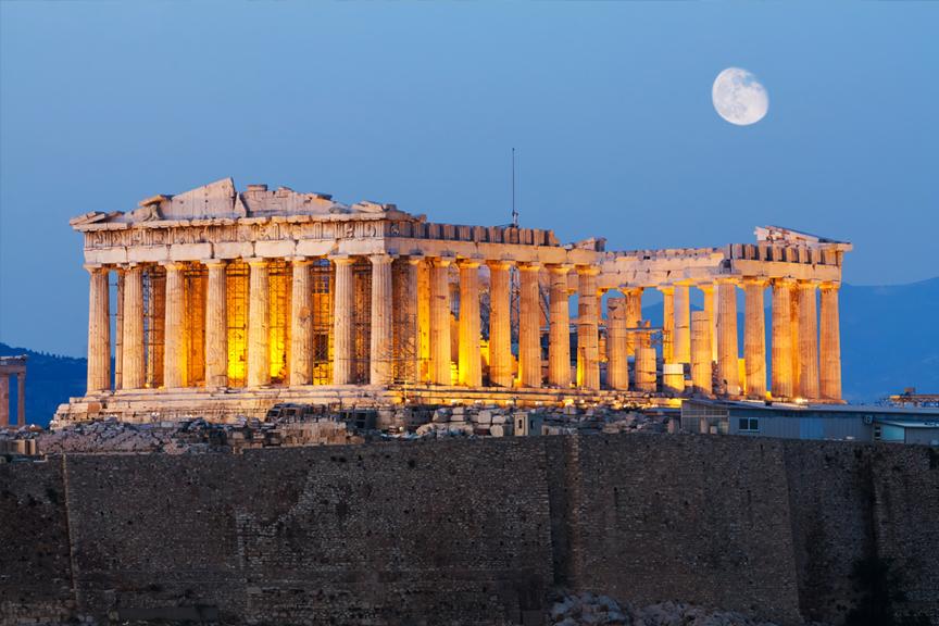Akropolis. Pigūs skrydžiai į Graikiją, Atėnus
