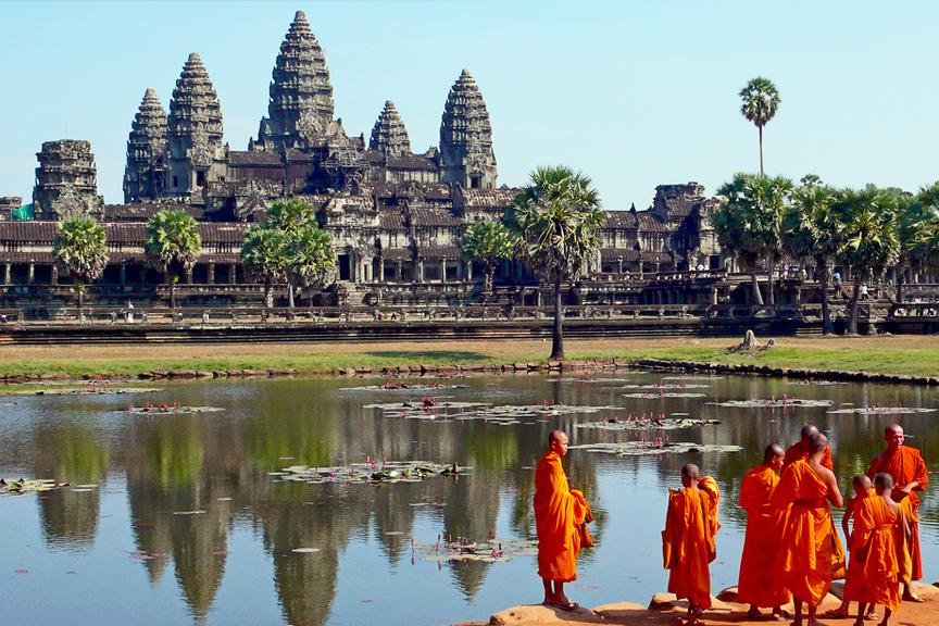 Angor Kambodža.Pigūs skrydžiai į Kambodžą