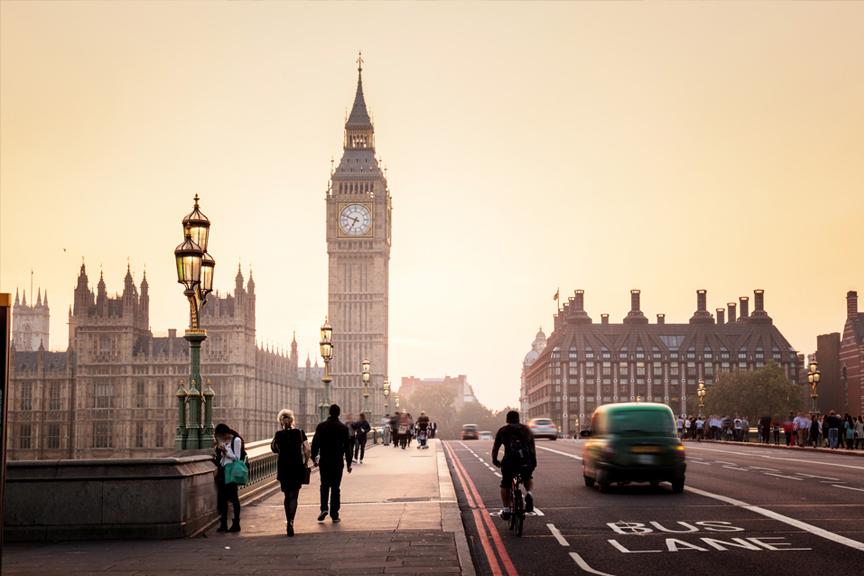 Big Benas Pigūs skrydžiai į Londoną