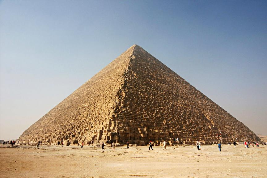 Cheopso Piramidė. Pigūs skrydžiai į Egiptą