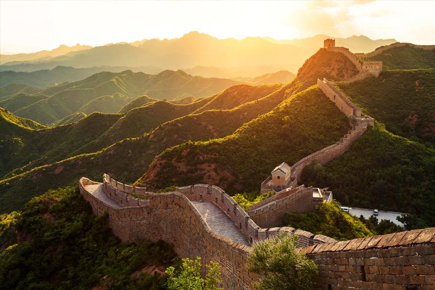 Kinijos siena. Pigūs skrydžiai į Kiniją
