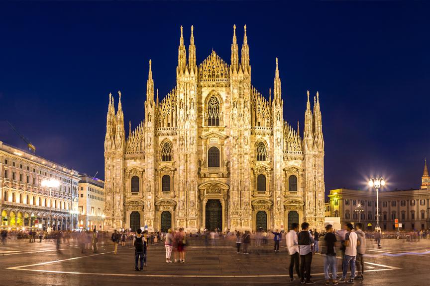 Milanas. Pigūs skrydžiai į Italiją