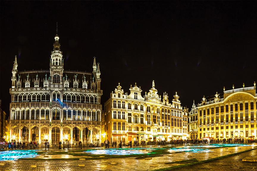 Pigūs skrydžiai į Briuselį, į Belgiją
