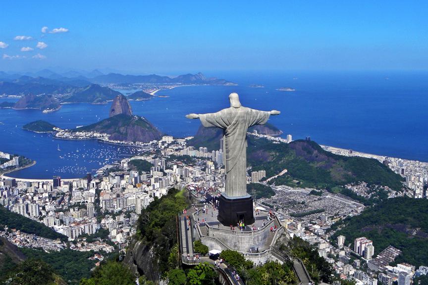 Rio de Janeiro. Pigūs skrydžiai į Braziliją