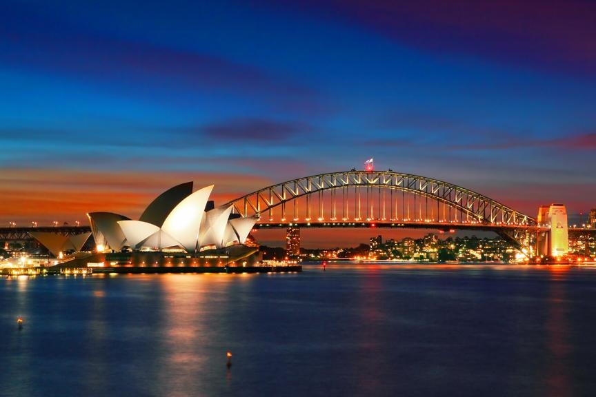 Sidnėjus. Pigūs skrydžiai į Australiją