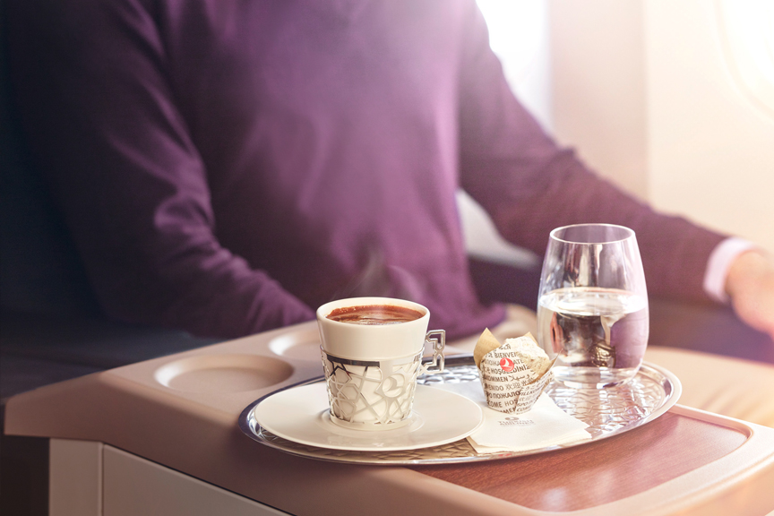 Turkish Airlines gastronomija Skrendu.lt