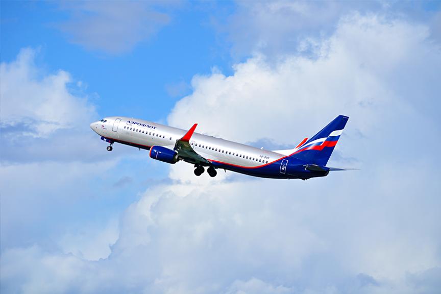Aeroflot Lėktuvas Skrendu.lt