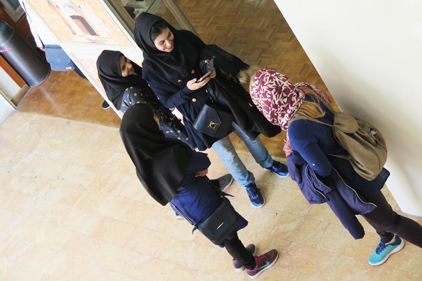 Vietines merginos. Iranas