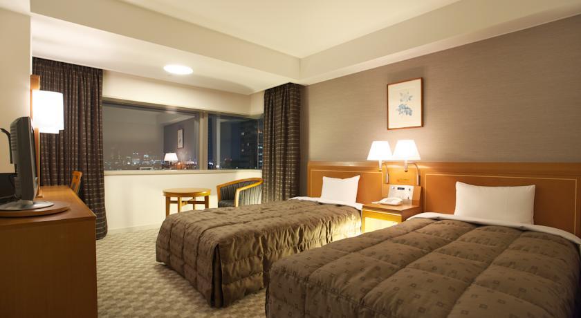 Kambarys viešbutyje Tokijuje. Pigūs skrydžiai į Japoniją