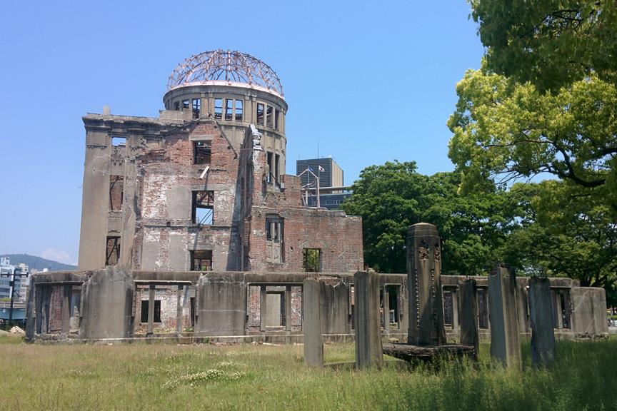 Hirosima. Taikos memorialas. Gembaku Dome.