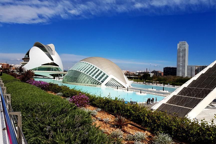 Valensijos modernūs architektūriniai objektai