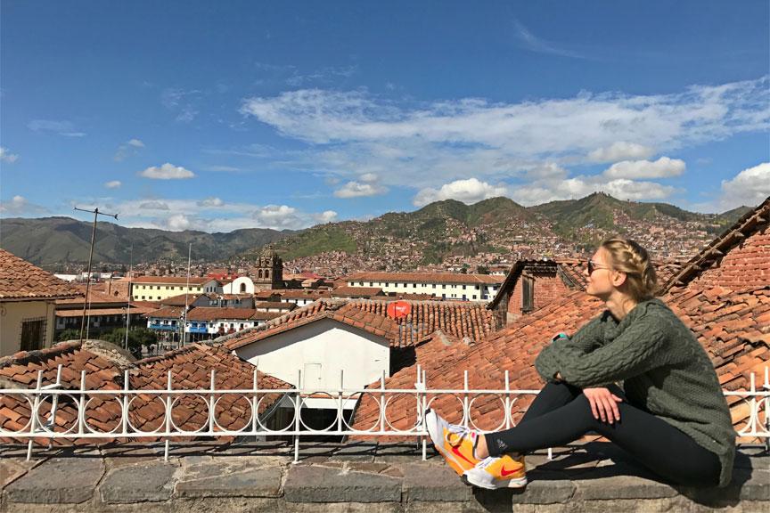 Cusco miesto vaizdai