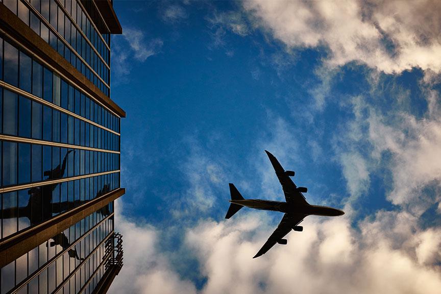Lėktuvas danguje