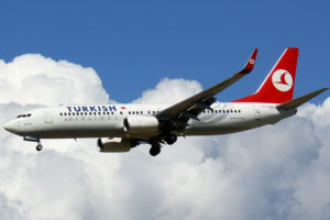 Turkish Airlines lėktuvas