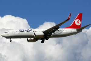 Turkish Airlines lėktuvas