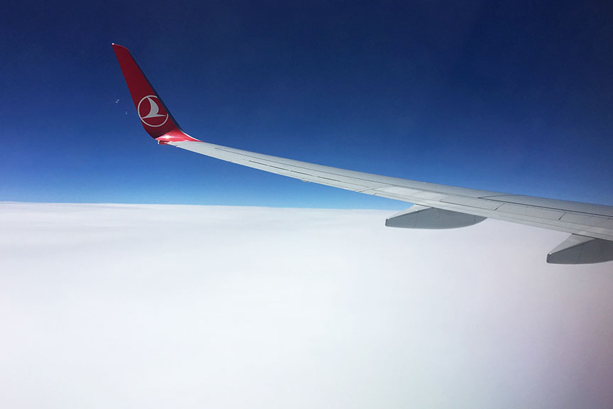Turkish Airlines orlaivis