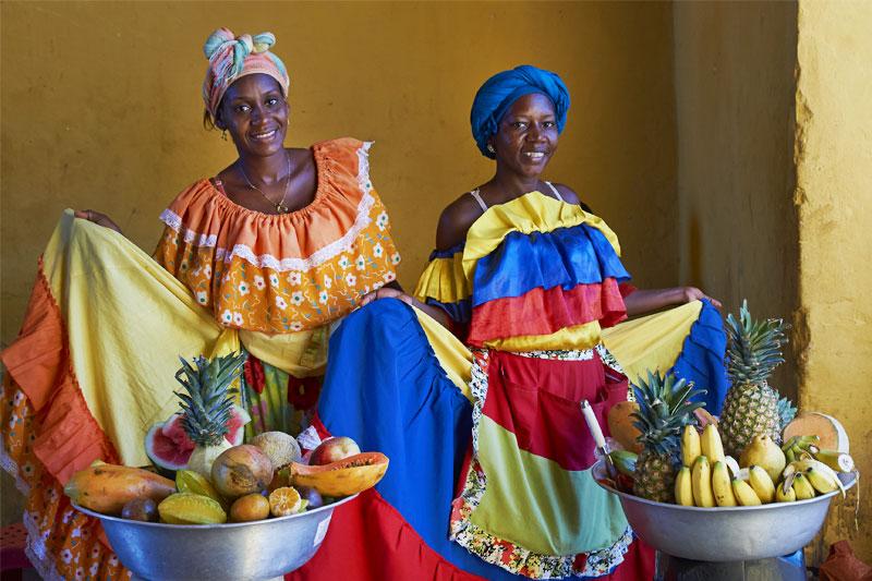 Moterys Kolumbijoje