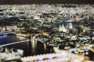 Naktinė Londono panorama