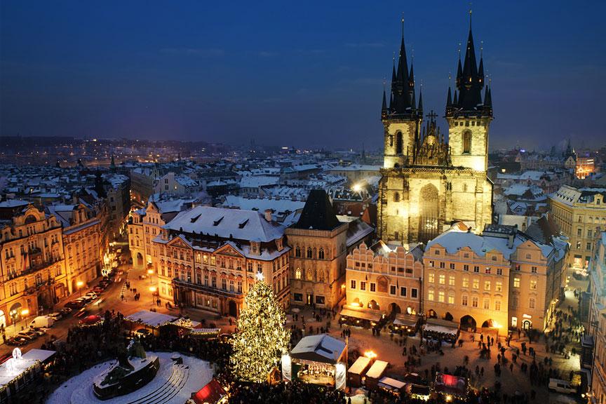 Prahos kalėdinė mugė
