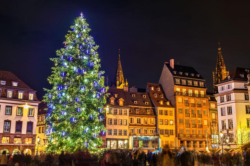 Kalėdų mugė Strasbūre