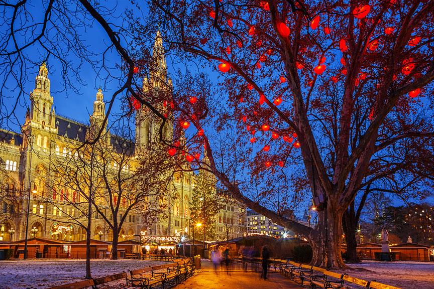 Kalėdų mugė VIenoje