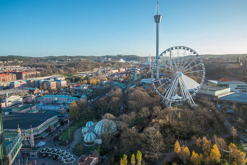 AtmosFear atrakcionas Lisebergo parkas Geteborge