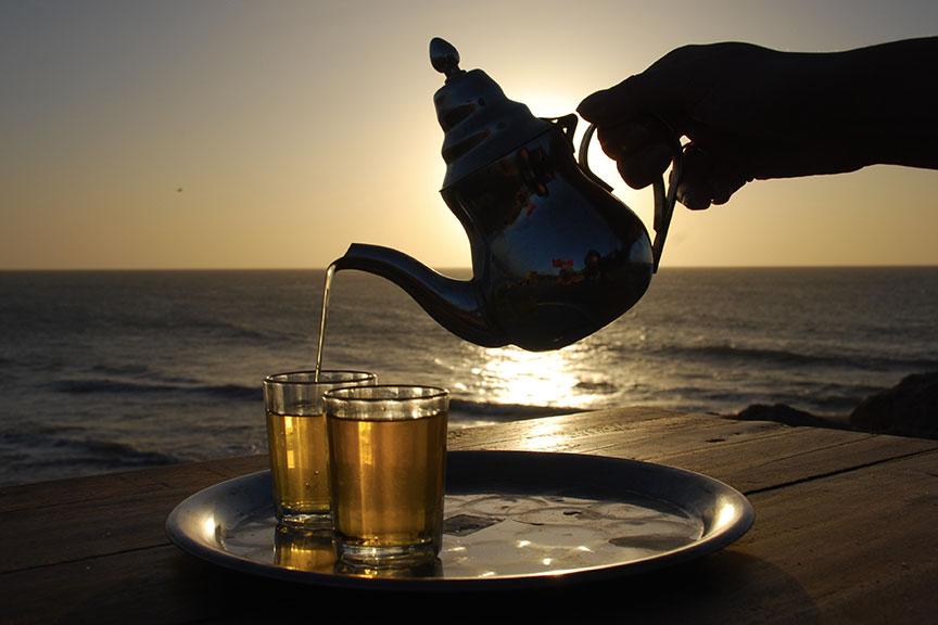 Marokietiška mėtų arbata